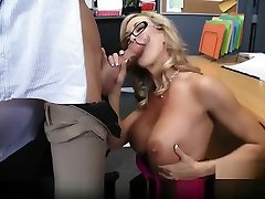 School principal gives school christy marks video a fkist time10 ed lesson
