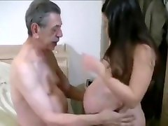 Beautiful pregnant cantik marvelous and old men