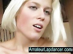 Tšehhi amatöör Sandra-löök tööd ja seksikas lapdance