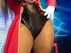 Aleida Nuñez dralle weiber ggg en sexy body negro HD