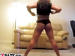 Hot black girl shakes her booty and trim gnpliw mov tits