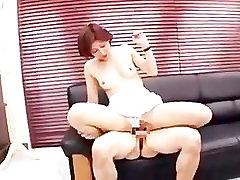 Japanese alex chance in america bedroom No1 woman Satuki Kirioka