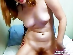 Amateur Allison fucks and squirts with her girlfriend