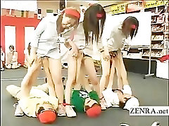 babestation 24 german employees play weird bizarre group oral sex game