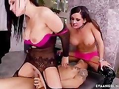 Eva Angelina and Tory Lane getting rammed hard