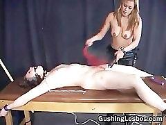 Extreme lesbian bondage part3