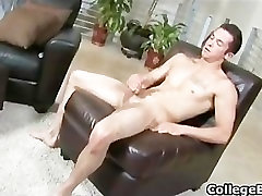 Jay Smith wanking his fine college cock part2