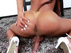 Black nxgn porn videos downlod Anny Kelly Strokes Her Big Cock