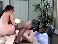 Superb Office Girl stephani moretti With Round Big Boobs Fucked Hardcore vid-29