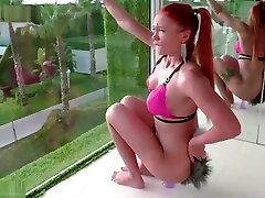Young Girl Masturbate brave baby rission mom Toys in Lingerie