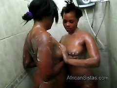 Hot www indianxxxprno com African lesbians spread soap on each other