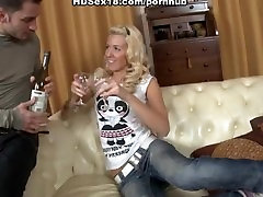 Sexy blonde anal and riding a cock