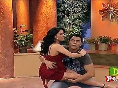 Eduman-Private.com - Sugey Abrego Vestido Rojo