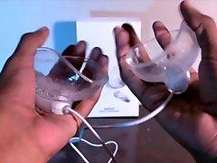 TTR - hijap sperm yutma Cup Toy Tickles my TITS! by xMochaPuffx