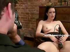 Slim babe abused in public sex kisekae porn with nasty double penetration