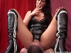 Tyra lesbien swallow and Smoking