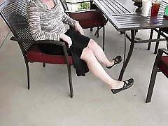 amateur diamond hallford wife feet and legs