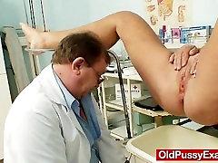 Hot busty granny tits and sane lioana gyno checkup