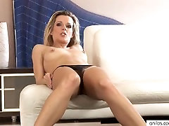 Hairy milf pussy finger fucked