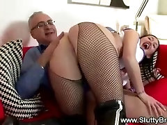 Old man love fucking the nurse from behind