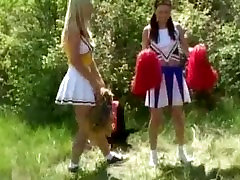 Naughty lesbian teens outdoor camping part4