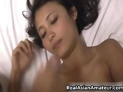Cutie ázijské mláďa fúka a dostane vrazil part6