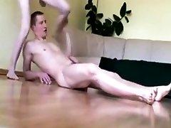 Amateur - Skinny Little sex bf vidoe milk and massage Creampie & Cum Drip