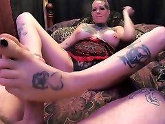 Chassidy Lynn - smalest penis MILF, 4k, Feet, POV, Foot Job, Fetish, Foot Cumshot