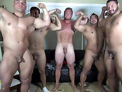Naked Party LATINO Muscle atika ipoh House - Amateur Fun w Aaron Bruiser