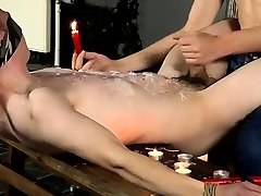 Gay emo latex porn The super-steamy wax on his fragile