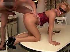 Busty slut sucking fat cock and gets part4