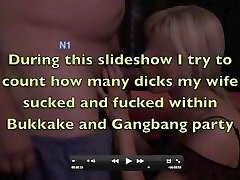 Slideshow of Baraback GangBang and Bukkake in Berlin