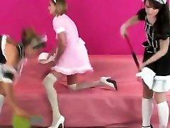 Flirty teens ride the biggest nepali sexxx movi dildos and spray jizm everywhere