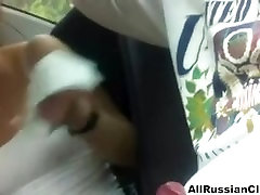 Blowjob In Car From kathia haas Couple less bra cumshots swallow