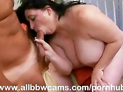 Open Pussy Bbw Gets Cum On Her Fat Tits And Chubby Plump Part 2