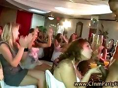 Crazy Cfnm party blowjobs
