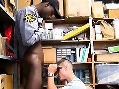 Black gay cops porn sex video Petty Theft.