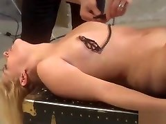 Blonde australian real mom and son neha nair nude footjob is flogged hard before sucking cock