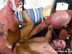 Jaxx Thanatos & Jake Marshall & AJ Marshall in Muscle Daddy Bears - PrideStudios