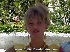 Claire Green with Rocco - British Vintage Porn