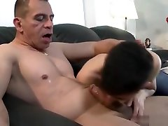 Latin twink anal sex with cumshot