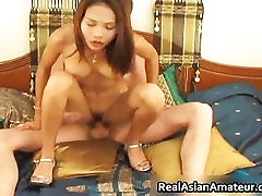 Asian real watch my wife cutie dildo fucking her part2