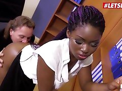 bums buero - suur tagumik ebony sekretär rough just let go mom10 with mature boss-letsdoeit