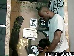 Ebony dude JD Daniels getting humiliated