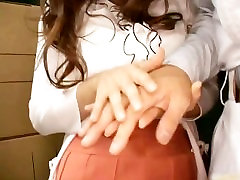 Frustrated Japanese lady has a group sex pirn part4
