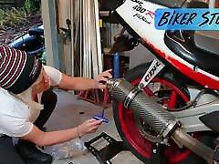 karšto youtuber dviratininkas stuff-nuostabus didelis pastatyti spenelius