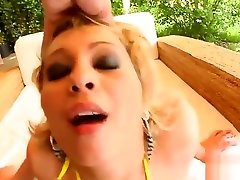 Tamed Teens Teens hard fucking by two cocks fucks her up