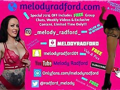 15 Melody Radford bisexual star blondie and monstercock AMATEUR My First Attempt With A Butt Plug FREE