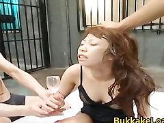 Hina Kurumi Hot Asian doll enjoys hot part4