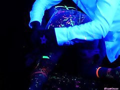 Hot UV Wax Play with 18yo Ivy Minxxx Teaser Clip